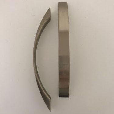 Bred Kurvad - Borstad Silver